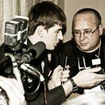 Подольск ТВ письмошная интервью Олег Голдуев продюсер